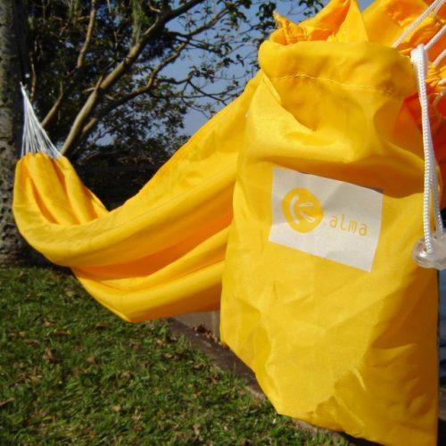 Rede Descanso Amarela Decor Kalma