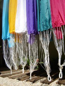 Redes de descanso em nylon