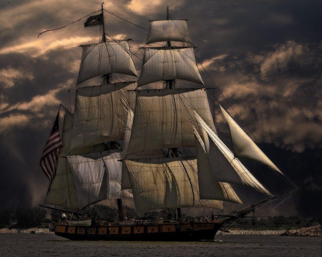 Origem das redes de dormir em navios