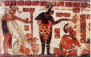 Cerâmicas Maias com desenho rede de descanso