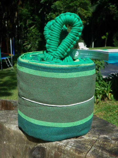 Rede de descanso verde cacto