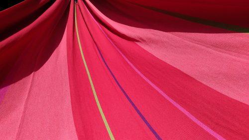 Rede de dormir vermelho hibisco Kalma