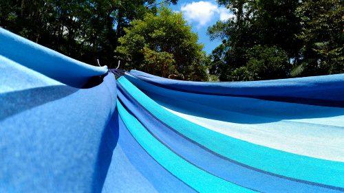 Rede de descanso azul degrade kalma