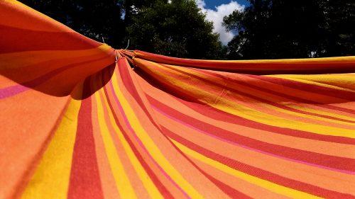 Rede de descanso laranja gurassol Kalma